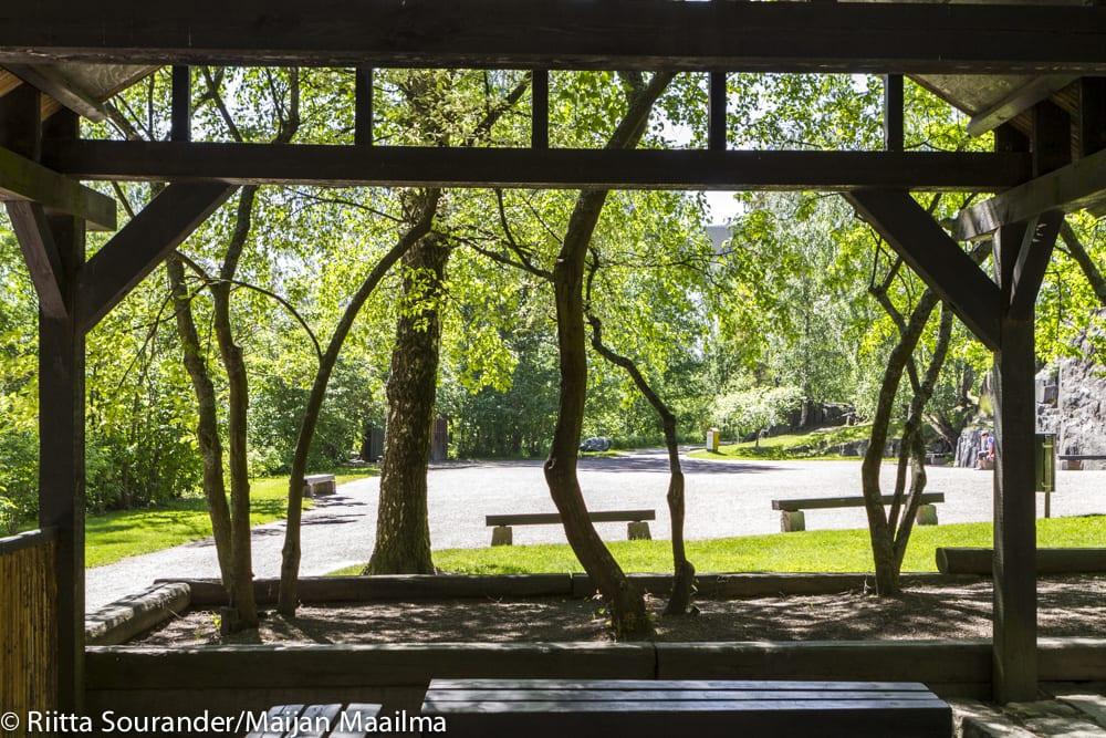 Roihuvuoren japanilaistyylinen puutarha-2
